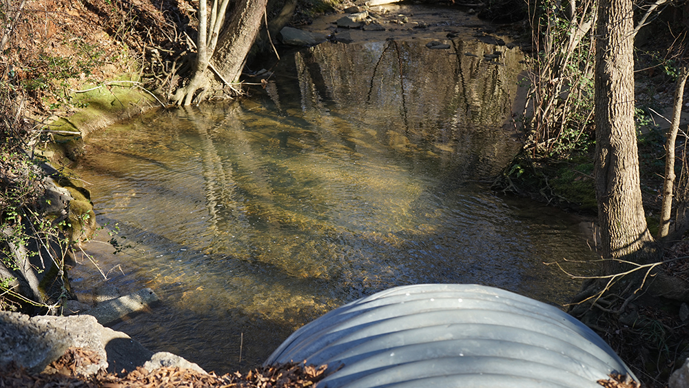 Water at Mauldin Mobile Home Park